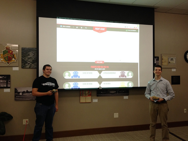 NebraskaJS FightCodeGame Tank Battle August 2014