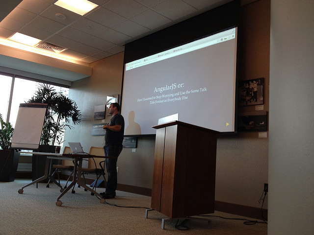 Jerod Santo talking about AngularJS